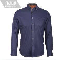 华友源男士保暖衬衣加厚加绒棉商务休闲保暖衬衫冬季新品包邮8937