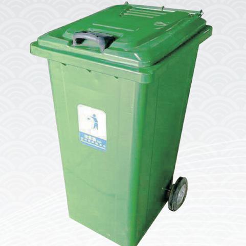 新疆钢板垃圾桶 钢板垃圾桶经久耐用 华庭果皮箱货源充足