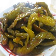 供应腌辣椒泡椒坛菜泡菜 200克