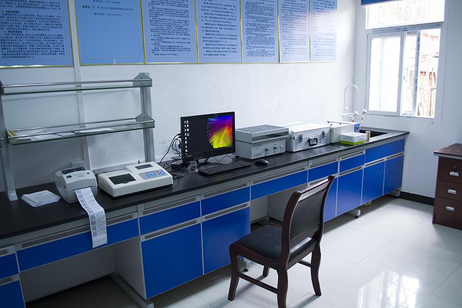 蔬菜检测实验室