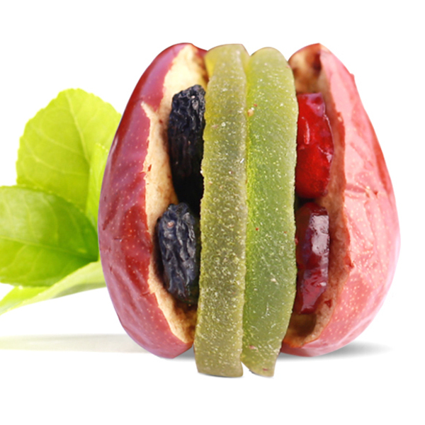 晋江源大红枣夹蔓越莓500g新疆和田大枣加猕猴桃干抱抱果干果零食  量大从优 欢迎来电询价!