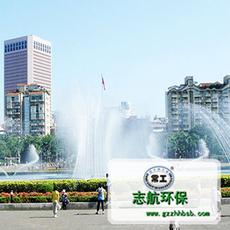 广场旱式喷泉