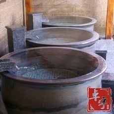 独立式浴盆陶瓷厂家直销 陶瓷泡澡缸大缸厂家批发 圆形陶瓷浴缸厂家定制