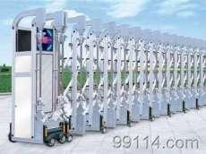 安装电动伸缩门维修自动门电机更换电动门电机