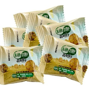 绿康无糖莜面(裸燕麦)饼干 适合三高人群 (原味散装) 健康食品