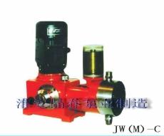 JW(M)-C液压隔膜式计量泵|液压隔膜泵|加药计量泵|江苏晶鑫泵业
