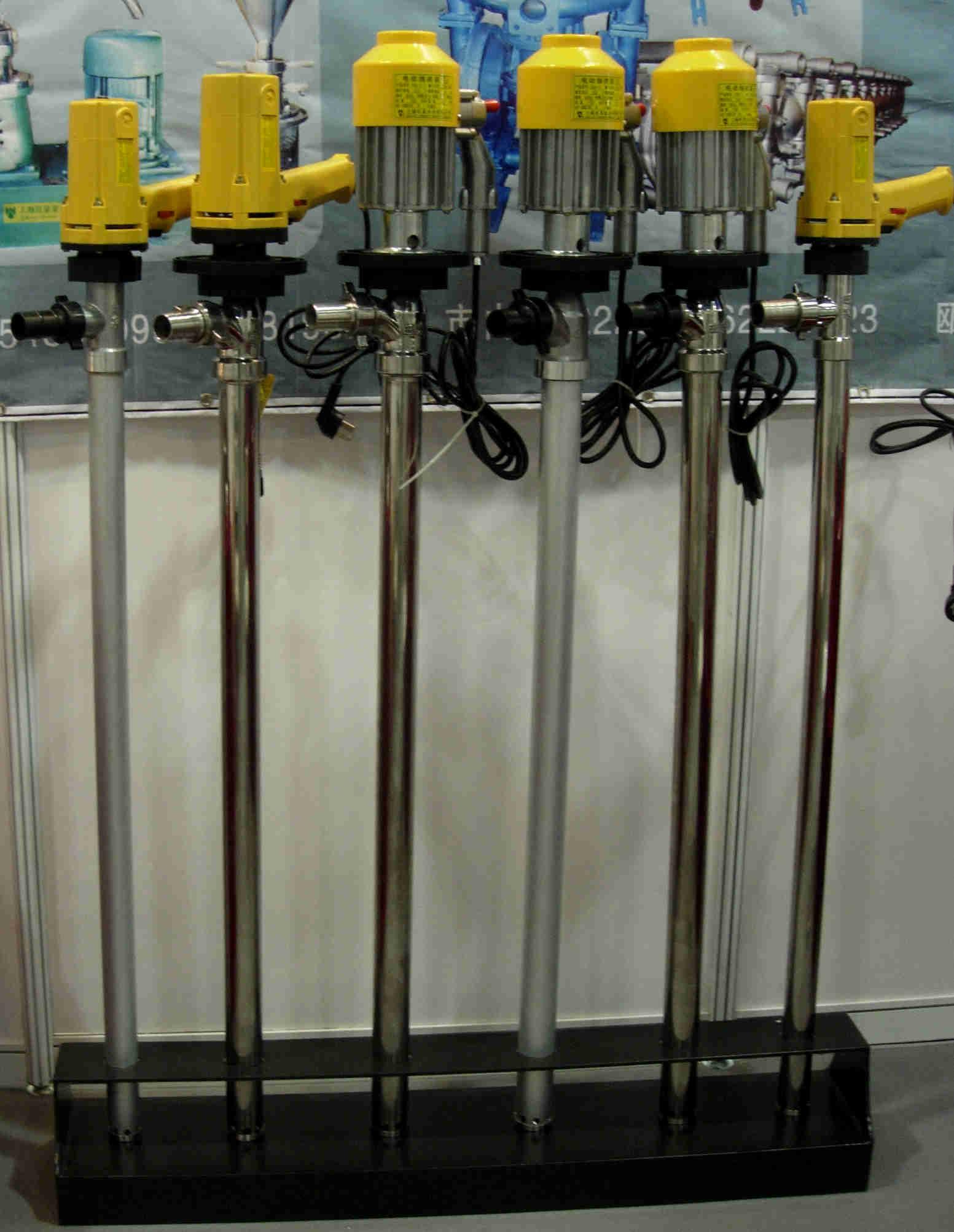供应电动抽液泵、油桶泵、提升泵、防爆插桶泵
