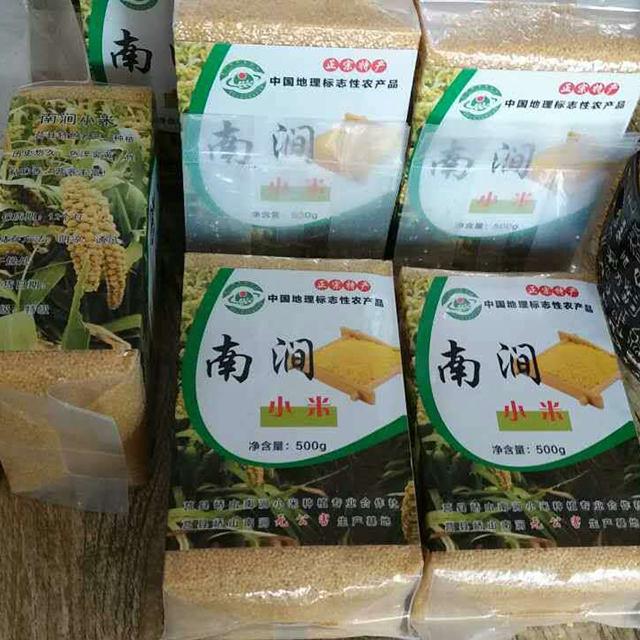 南涧小米 小米大量批发销售 真空包装黄小米