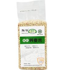 东北特产黑土地优质荞麦非转基因五谷杂粮胜澳有机荞麦米真空包装