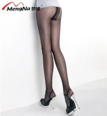 供应120D包芯丝T裆无痕防脱勾丝性感透明美腿丝袜