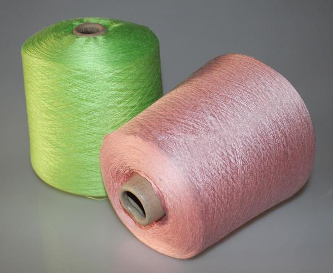 烧毛丝光棉纱60支针织纱