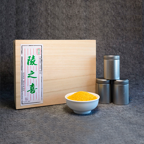陵川西河底有机小米礼盒供应