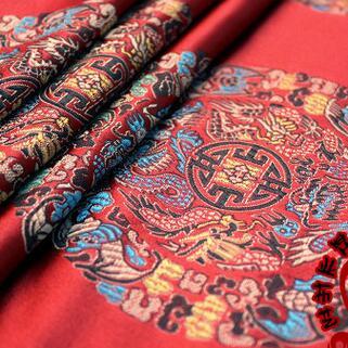 供应 缎红木家具坐垫丝绸面料工艺品包装面料