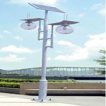 3米双头太阳能庭院灯