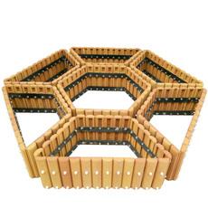 西安创汇新型透气环保户外花箱组合花箱沙制品屋顶阳台种花种菜园林绿化城市绿化会呼吸的花盆花箱支持定制
