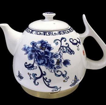 供应 青花瓷陶瓷电磁壶电磁茶壶