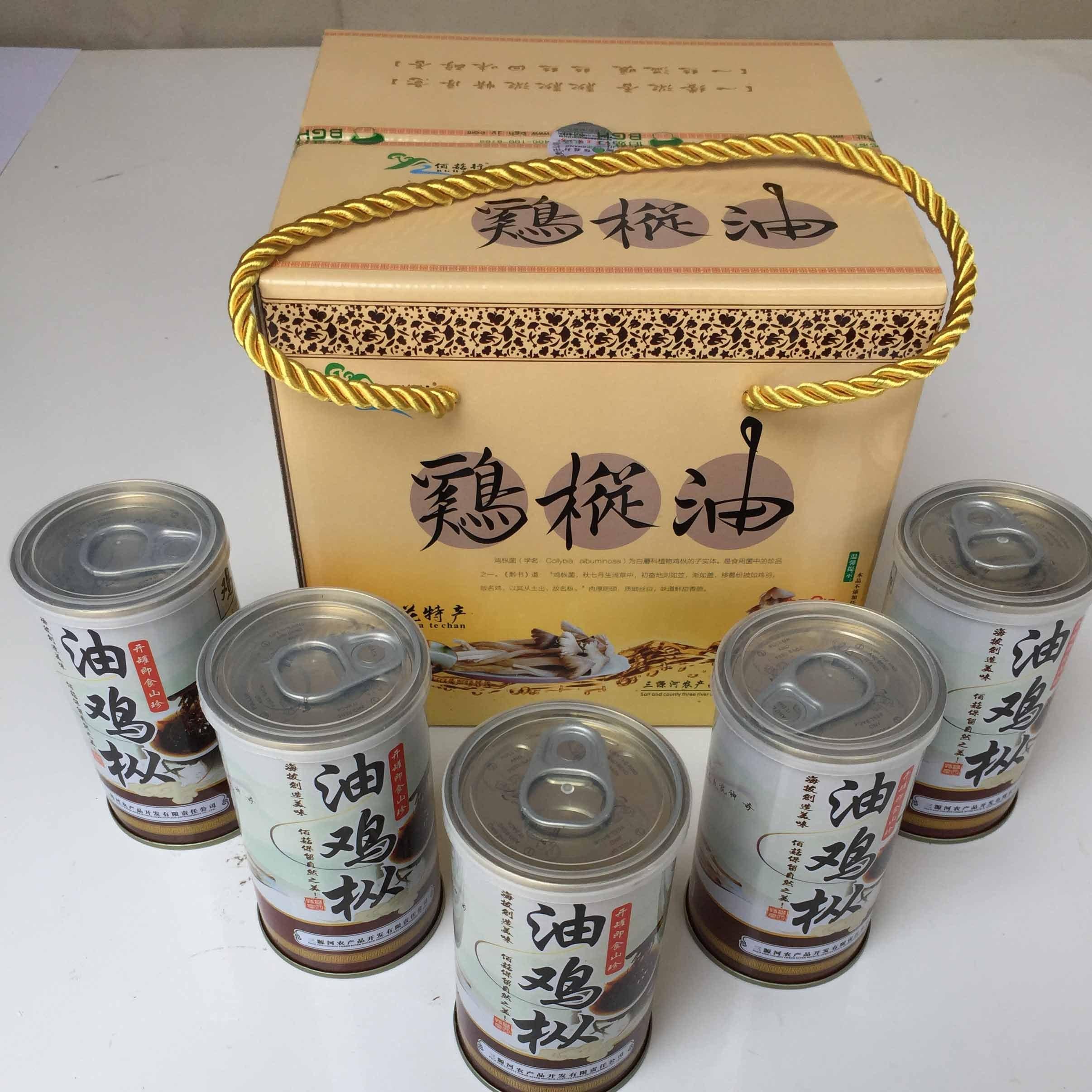 佰菇行油鸡枞菌150g*5盒
