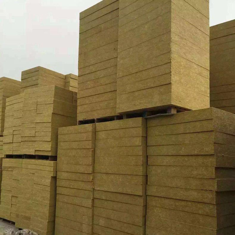 富美达  厂家直销吸音憎水岩棉板 防火阻燃岩棉板 国标高密度岩棉板