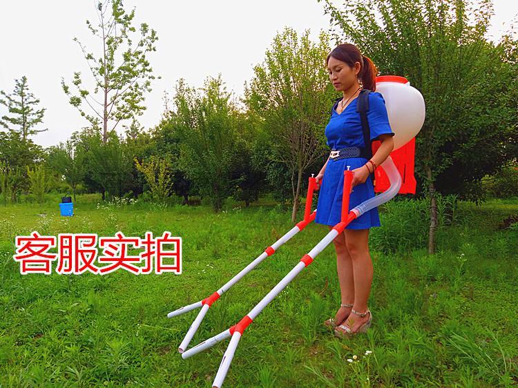 施肥器撒肥机追肥器化肥机玉米播种机水稻扬肥器手动化肥施肥机械
