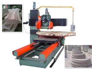 石材设备 石材磨边机异型石材机械电脑仿形异型加工石材切割机