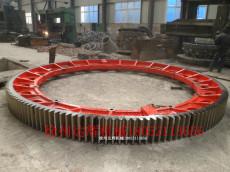 达辉供应各型号复合肥转炉大齿轮 各型号齿圈