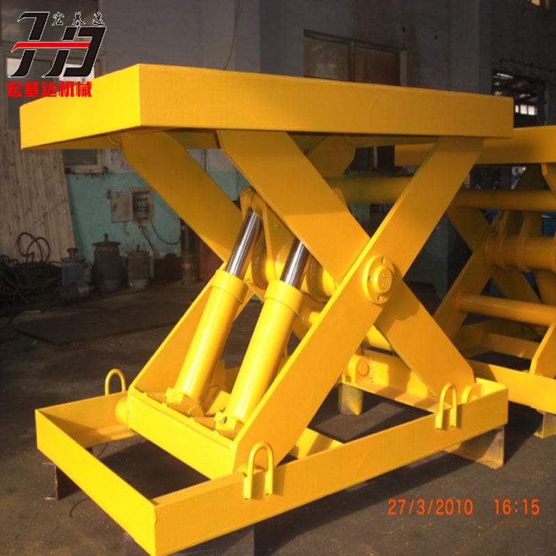 宣武区固定式剪叉升降机 液压升降平台 货梯升降机图片