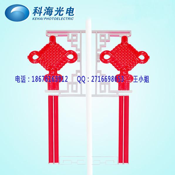 灯杆亮化中国结-政府中国结工程-中国结生产基地