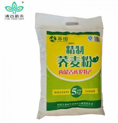 清谷新禾 批发石磨荞麦粉 5kg装