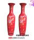 供应中国红大花瓶 大花瓶厂家批发 花瓶定制