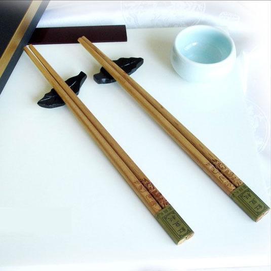 高级餐具 红豆杉木筷 无漆 环保木筷 生活用品 商务礼品批发