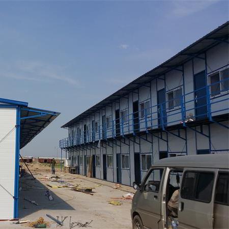 工地用拆装河北活动房厂家 可回收岩棉复合板廊坊活动房
