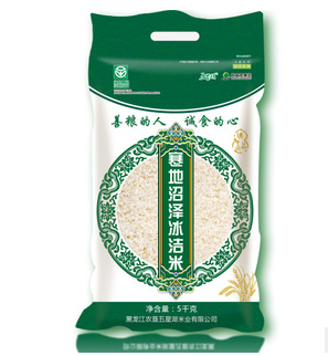 东北大米 北大荒寒地沼泽冰洁米5kg 圆粒企业福利米
