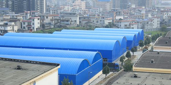 无梁拱形屋顶钢结构设计制作安装