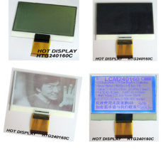 32级灰度240160单色LCD液晶显示屏