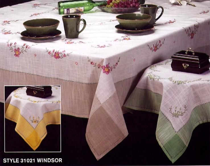 浪漫风情桌布