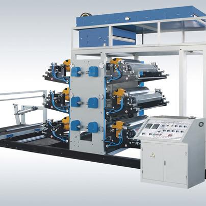 塑料编织袋连续印刷机
