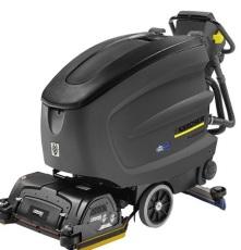 制造车间地面油污B60手推式全自动洗地吸干机