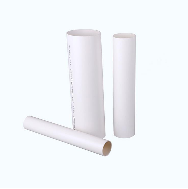 白色塑料排水管雨水管 大口径建牛PVC排水管 白色塑料排水管道