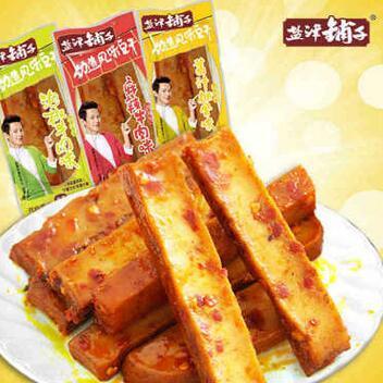 供应 盐津铺子劲道豆干豆腐干湖南特产多口味豆制品