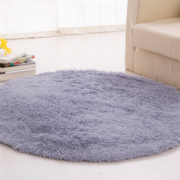 欧式圆形地毯