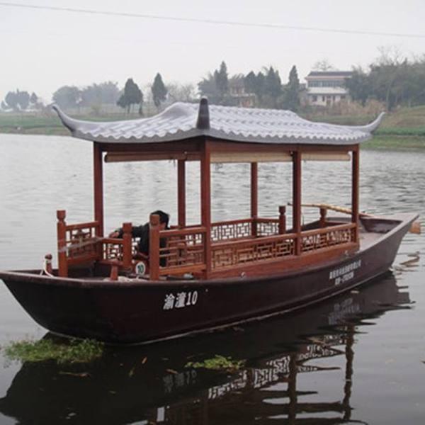 百年木船 休闲船 下水船 杉木 烤漆 各种颜色