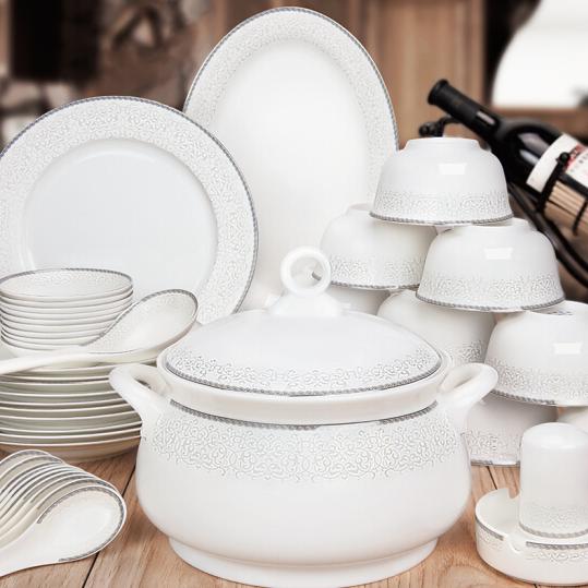 供应碗碟套装餐具套装陶瓷碗筷套装碗具骨瓷套装陶瓷器餐具盘子碗套装