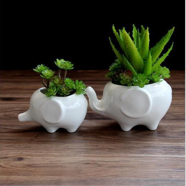 厂家直销 zakka多肉花盆 创意花盆 陶瓷摆件 工艺品小额现货批发