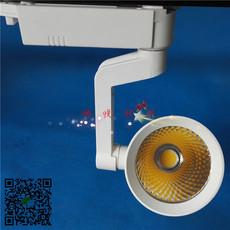 万达超市LED导轨射灯专业专注大功率cob轨道射灯深圳厂家低价批发