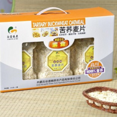 荞麦麦片苦荞麦片 内蒙古特产 谷道粮原 五谷杂粮 有机食品
