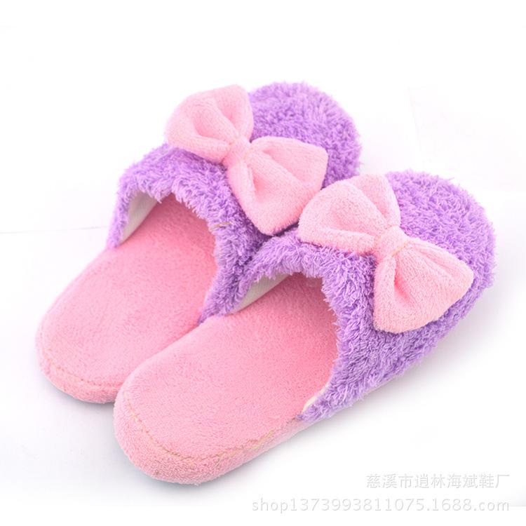 卡通猴子情侣居家棉拖鞋人气软底拖鞋可爱拖鞋家居–