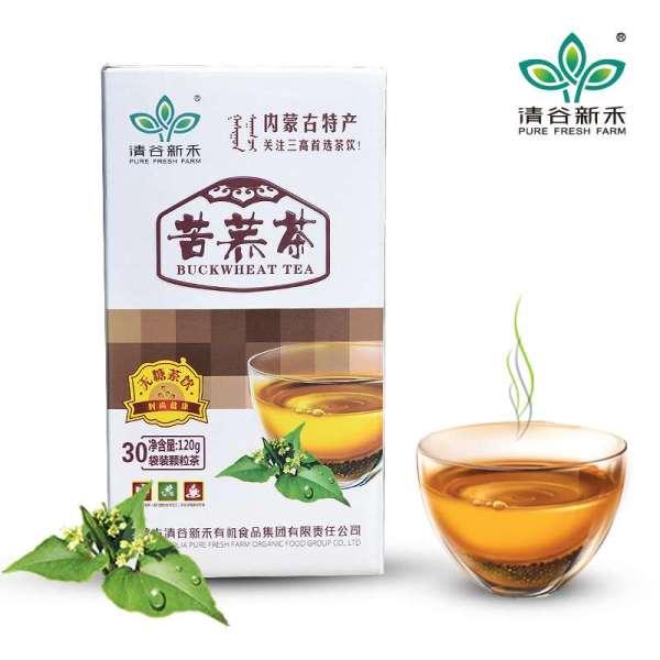 厂家直营 清谷新禾白尊颗粒苦荞茶 荞麦茶