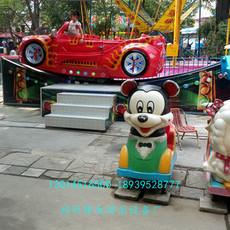 360度旋转滑车 轨道游乐设备厂家 郑州隆生宝马飞车