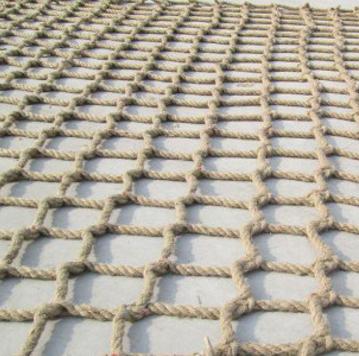 供应 麻绳网装饰网吊顶网
