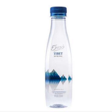 5100 西藏冰川 矿泉水 钻石系列 330ml24瓶 水 饮用水